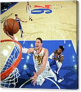 Mike Muscala Canvas Print