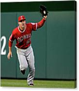 Mike Trout and Bryce Harper Canvas Print