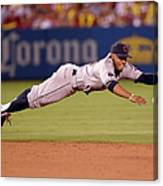 Mike Trout and Francisco Lindor Canvas Print