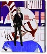 Mink DeVille - Le Chat Bleu Canvas Print