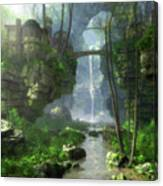 Mist Valley Canvas Print