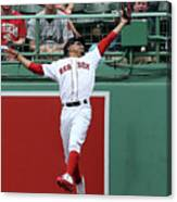 Mitch Haniger and Mookie Betts Canvas Print