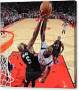 Montrezl Harrell and Marreese Speights Canvas Print