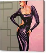 MS Jane Canvas Print