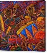 Musas Del Caribe Canvas Print