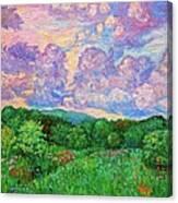 Mushroom Clouds Canvas Print