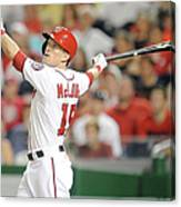 Nate Mclouth Canvas Print