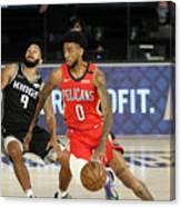 New Orleans Pelicans v Sacramento Kings Canvas Print