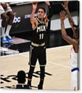 New York Knicks v Atlanta Hawks - Game Four Canvas Print