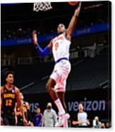 New York Knicks v Atlanta Hawks Canvas Print