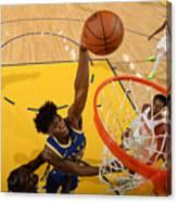 New York Knicks v Golden State Warriors Canvas Print