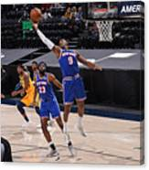 New York Knicks v Utah Jazz Canvas Print