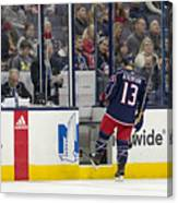 NHL: DEC 01 Ducks at Blue Jackets Canvas Print