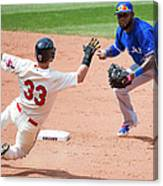 Nick Swisher, Jose Reyes, and Jason Kipnis Canvas Print