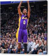 Nick Young Canvas Print