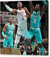 Oklahoma City Thunder v Charlotte Hornets Canvas Print