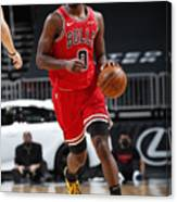Oklahoma City Thunder v Chicago Bulls Canvas Print