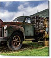 Old Chevy Farm Truck Canvas Print