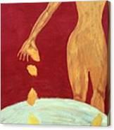 Orange Lemons Canvas Print