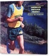 Oregon Steve Prefontaine Sports Illustrated Cover Canvas Print