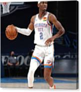 Orlando Magic v Oklahoma City Thunder Canvas Print