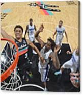 Orlando Magic vs. San Antonio Spurs Canvas Print