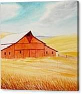 Palouse Air Canvas Print