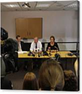 Parents of Melanie Hall Appeal For Information One Year On From The Discovery of Daughter's Remains Canvas Print