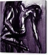 Passion Tango Purple Canvas Print