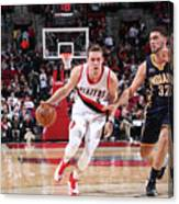 Pat Connaughton and Georges Niang Canvas Print