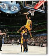 Paul George, Dahntay Jones, and Roy Hibbert Canvas Print