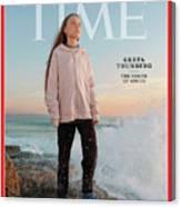 2019 Person of the Year - Greta Thunberg Canvas Print