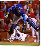 Peter Bourjos and Miguel Montero Canvas Print
