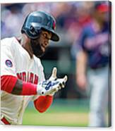 Phil Hughes and Abraham Almonte Canvas Print