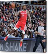 P.j. Tucker Canvas Print