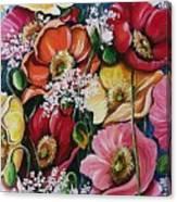 Poppies Delight Canvas Print