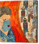 Power of Nursing Through Despair Canvas Print