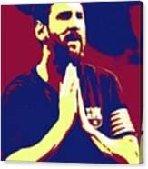 Prayerful Messi Canvas Print