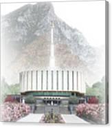 Provo Temple - Celestial Series Canvas Print