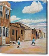 Pueblo Playground Canvas Print