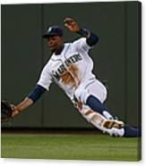 Raul Ibanez and James Jones Canvas Print