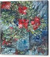 Red Flowers - SOLD Canvas Print
