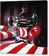 Red White And Apple Canvas Print