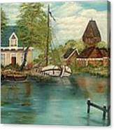 Retired Sailor Canvas Print