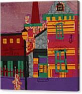 Revolving Museum Canvas Print