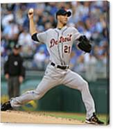 Rick Porcello Canvas Print