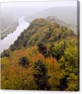 River Moselle in Autumn Canvas Print