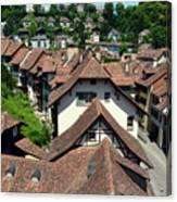 Rooftops of Medieval Bern, Switzerland Canvas Print