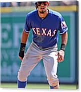 Rougned Odor Canvas Print