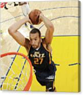 Rudy Gobert Canvas Print